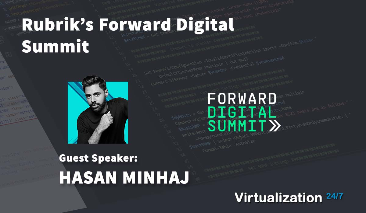 Rubrik Forward Digital Summit