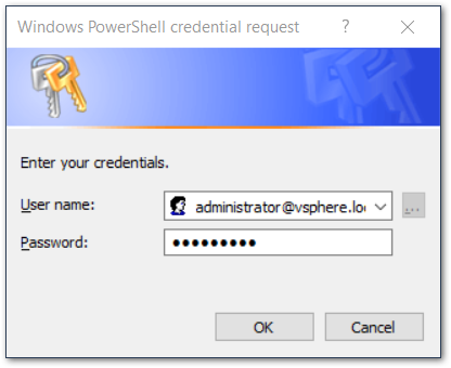 authentication dialog box